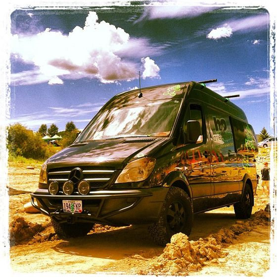 offroad #Sprinter! #mercedes #vans   Mercedes Vans ...