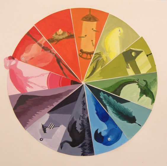 Pinterest the world s catalog of ideas for Creative color wheel