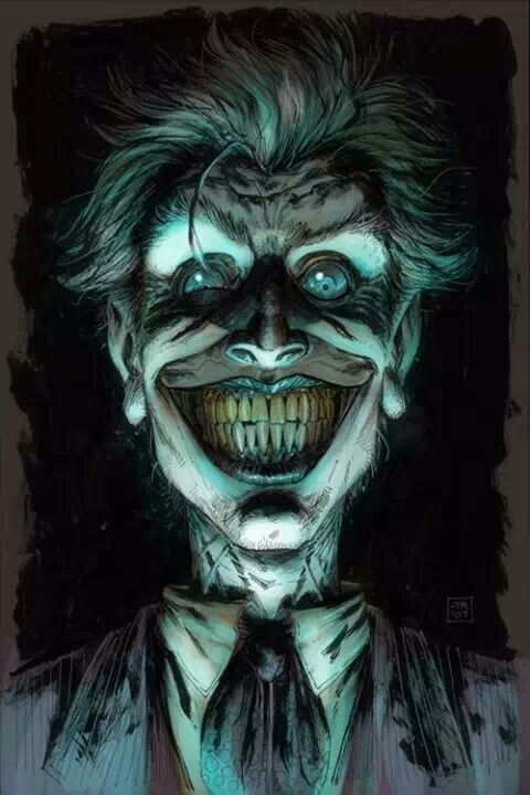 30 Scary Concept Art of The Joker 'Clown Prince Of Crime ...