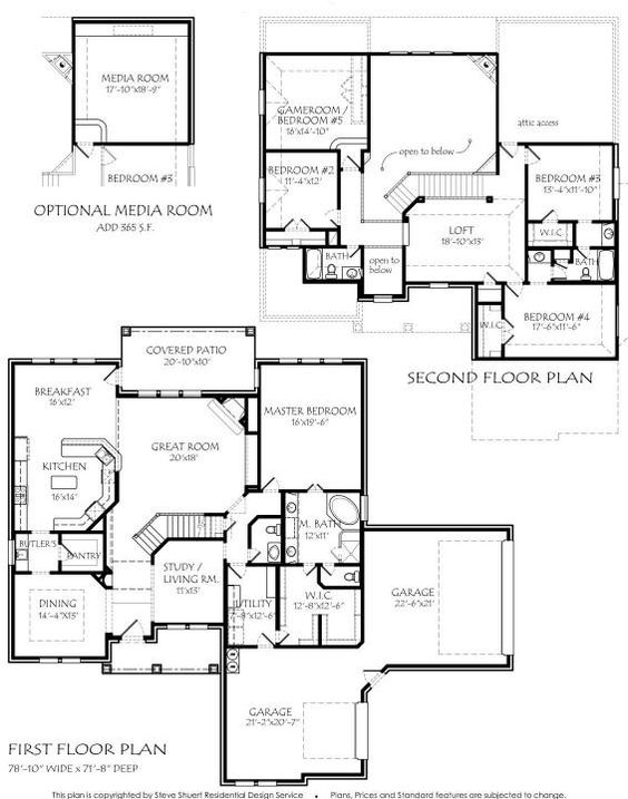 2 story 3885 square foot air conditioning optional for 2 story house plans with loft