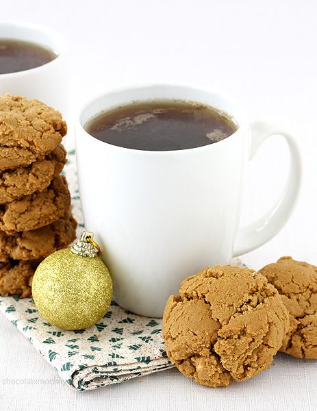 Soft on the inside, slightly crisp on the outside, these nutty molasses cookies bring the flavors of the season to your holiday cookie tray.