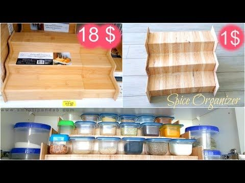 1 1 Craft Diy Dollar Tree Spice Organizer Spice Organizer For Your Kitchen For A With Cardboard You Spice Organization Diy Spice Storage Dollar Tree Diy