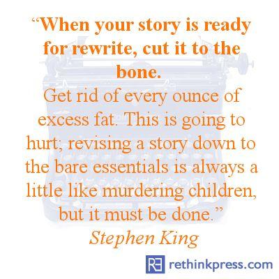 Stephen King on Rewrites