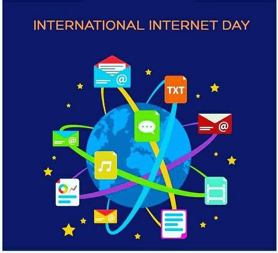 International Internet Day Day Internet Messages