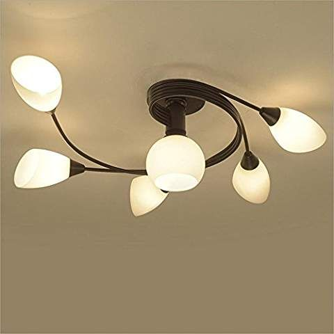 Joypeach Rustic Style Led Flush Mount Ceiling Lights Creative Living Room Ceiling Lamp Bedroo Ceiling Lights Flush Mount Ceiling Lights Ceiling Lamps Bedroom