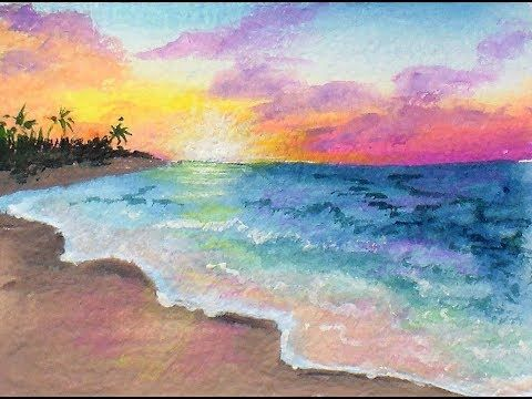 9 oil pastel tutorials that will help to unlock your potential.