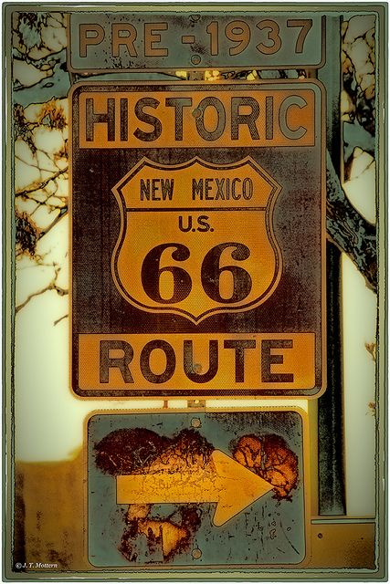 route 66 sign outside albuquerque new mexico pre 1937 route 66 pinterest beautiful. Black Bedroom Furniture Sets. Home Design Ideas