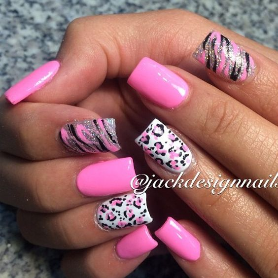 Instagram photo of acrylic nails by jackdesignnails ...