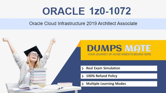 I labelled it so for the reason because I did it myself just relying on the cutting-edge Oracle 1Z0-1072 Exam Dumps offered by DumpsMate. Articulated and explained in simple language and supported with examples, the content of these 1Z0-1072 is accurate and verified. Being exam-intensive they take only a few days' struggle to learn in entirety. To check my level of understanding with the 1Z0-1072 exam syllabus I tried also the Testing Engine and solved all the Practice Exams it provided me.