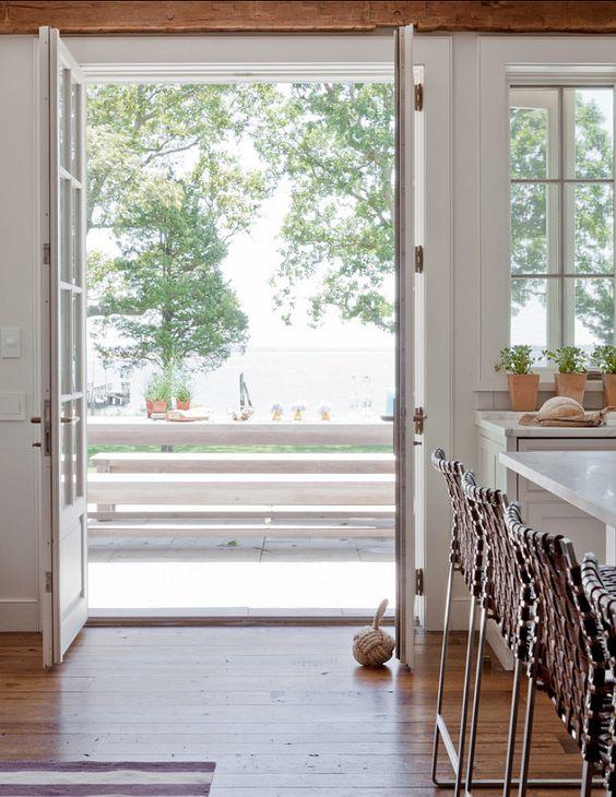 Beach House Interiors. Beach House Kitchen Ideas.  Beach House Interior Design Ideas. #BeachHouseInteriors