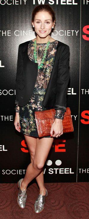 """Olivia Palermo in Zara at the """"Safe"""" N.Y. premiere, April 2012"""