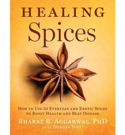 A book that take a look at 50 different spices and their curative qualities. It offers spice 'prescriptions' to match the right spice to a specific ailment.
