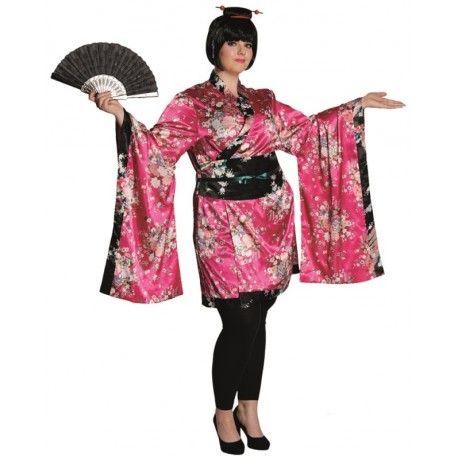 Déguisement geisha femme grande taille