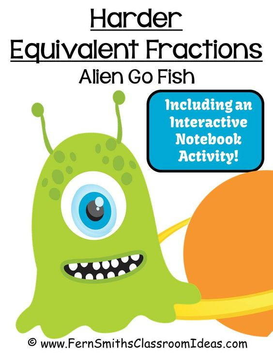 Fraction games for fourth graders fern s freebie friday for Play go fish online