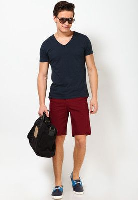 Maroon Regular Fit Shorts | Men's Fashion | Pinterest | Shorts and Fit