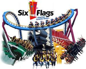 Six Flags Magic Mountain - Amtrak California.