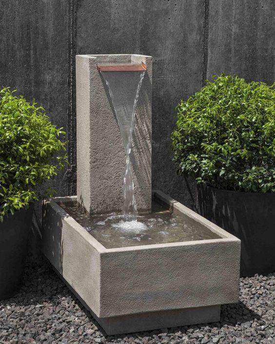 Falling Water IV Garden Fountain