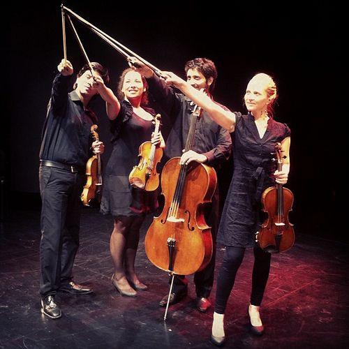 """Cuarteto """"Entre Cuerdas"""" SantiagoArte Eventos 2012"""