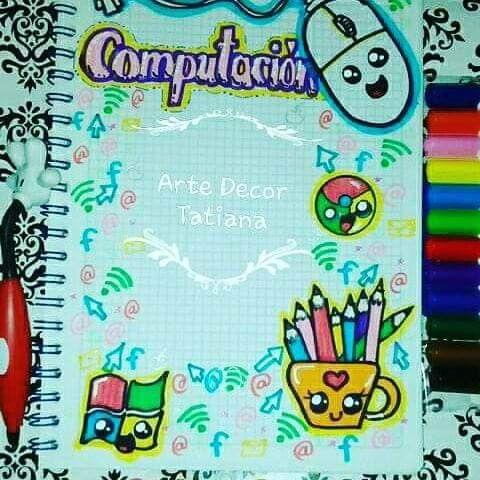 Pin De Caled En Ideas Con Imagenes Arte En Cuadernos Marcas