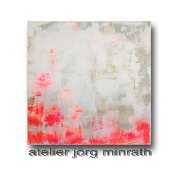 Abstrakte Malerei Handgemaltes Original von AtelierJoergMinrath
