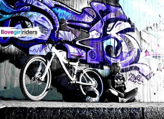 Tina posing - Rider: Tina Maiwald - #ilovegirlriders #iamagirlrider