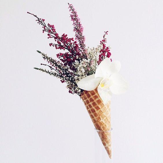 icecream bouquet