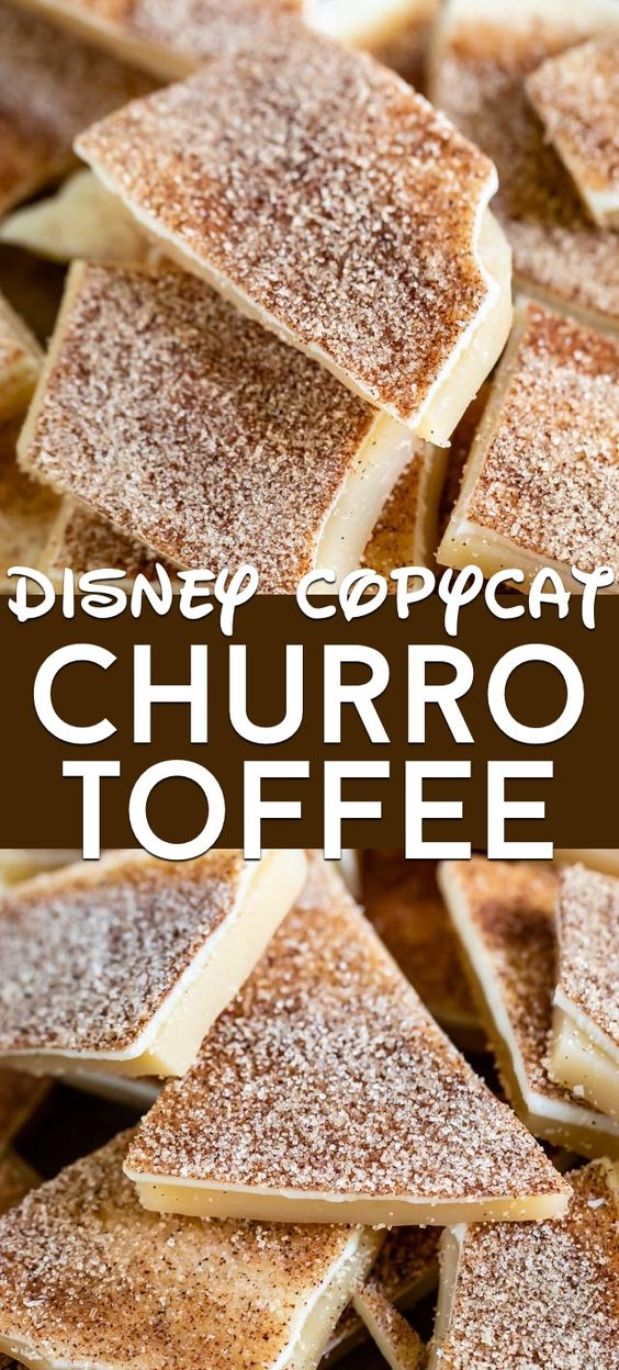 Churro Toffee