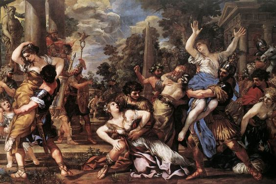 L'enlèvement des Sabines-Pietro da Cortona