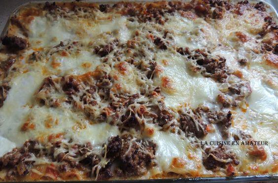La cuisine en amateur de Maryline: Lasagnes