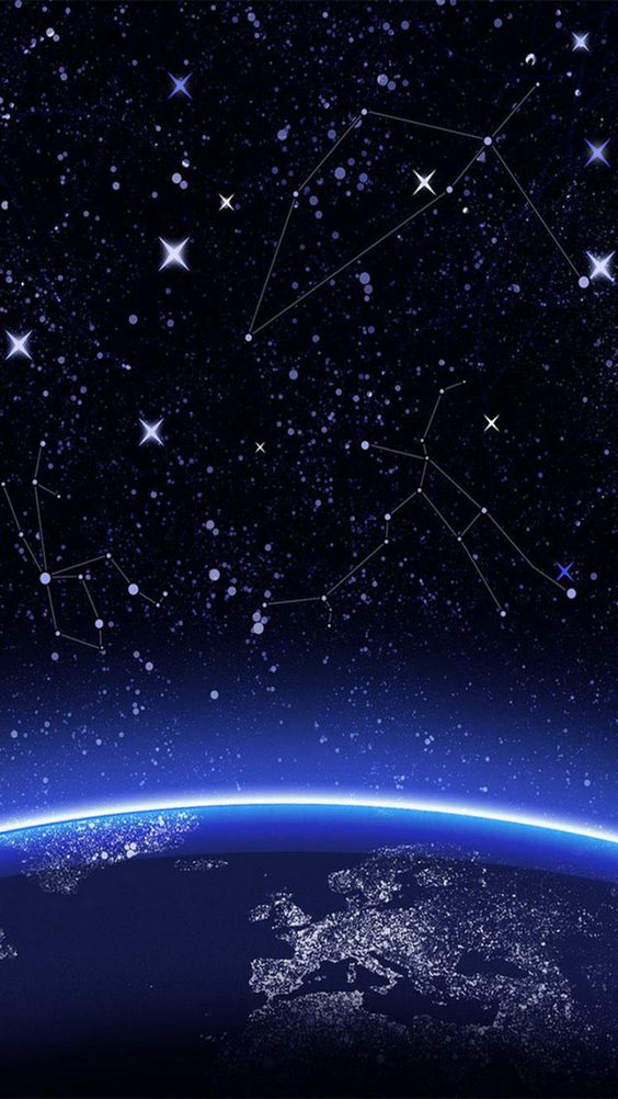 Constellation space iphone 6 wallpaper principal - Iphone 6 space wallpaper download ...