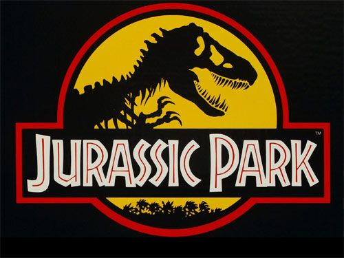 jurassic park logo clipart symbol free vector (for heather