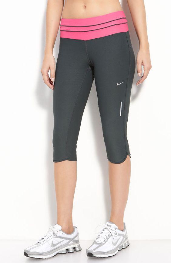 Nike crop pants! I love running pants!
