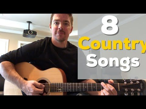8 Country Songs Beginners Should Learn With Chords Youtube Guitar Lessons For Beginners Guitar Lessons Guitar