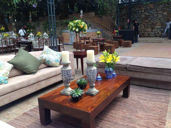 Lounge do Casamento na Fazenda Vila Rica