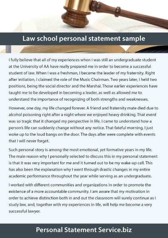 Personal statement service (callahanduarte) on Pinterest