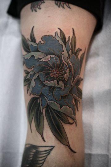 Universales Obras Y Tatuajes De Flores Para Hombres Tatuajes Cintura Tatuajes Tatuajes De Flores
