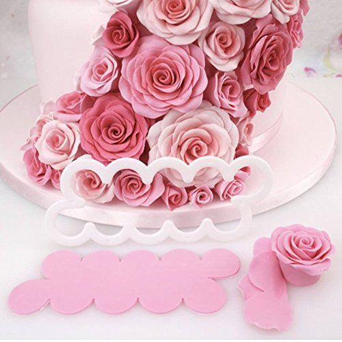 LIHAO Fondant Ausstecher Rose 3tlg Set Tortendeko Kuchendekorationsset Backen - https://www.amazon.de/LIHAO-Fondant-Ausstecher-Tortendeko-Kuchendekorationsset/dp/B01ER5OP8Q/ref=sr_1_7?ie=UTF8&qid=1465371856&sr=8-7&keywords=Fondant+Ausstecher+Rose