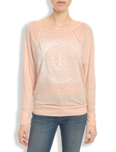 MOON GRAPHIC TOP - LuckyBrand
