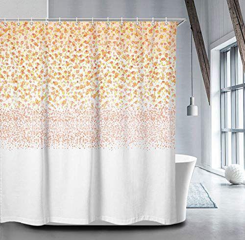 Livilan Floral Shower Curtain Set With 12 Hooks 70 8 Shower