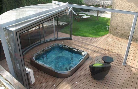 Abris pour piscine et spa panoramique