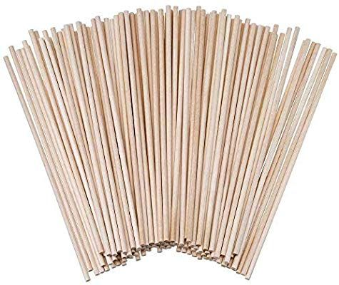 "Wooden Dowel Rods 1//4/"" x 48/"" Poplar Wood Dowels Lot of 100"
