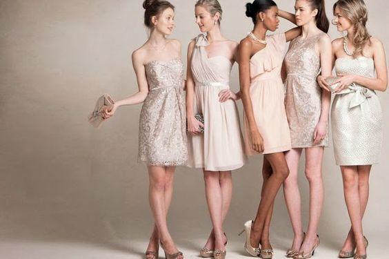 Jenny Yoo Neutral Dresses Mix & Match   Bridesmaid Dresses