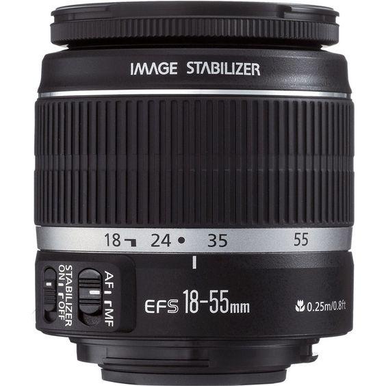 ống kính 18-55mm is stm