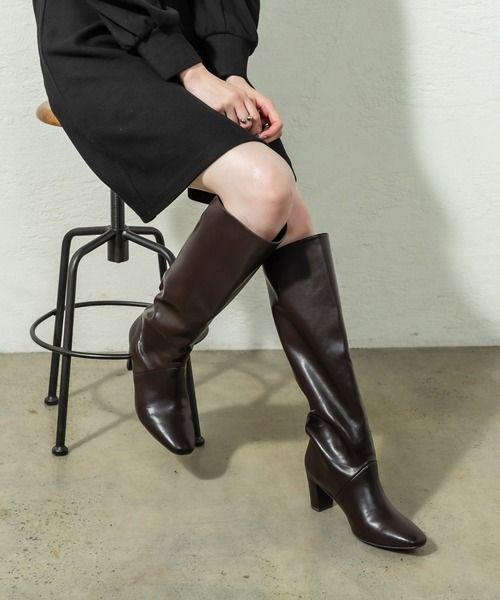 Zozotown Mystic ミスティック のブーツ ビューティーロングブーツ Myz1002413a0001 を購入できます 2020 レディース ロングブーツ ブーツ