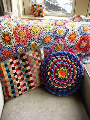 Ideas para decorar con crochet | Decorar tu casa es facilisimo.com