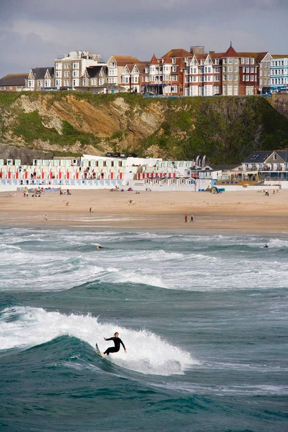 Newquay Cornwall. I've been here, it's amazing