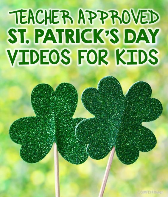 I would actually make those shamrock sticks and have them for the room, maybe dramatic play