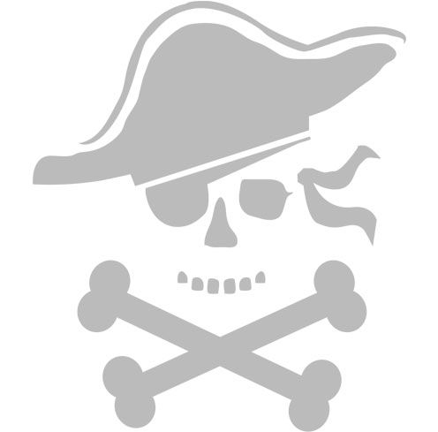 pirate pumpkin pattern
