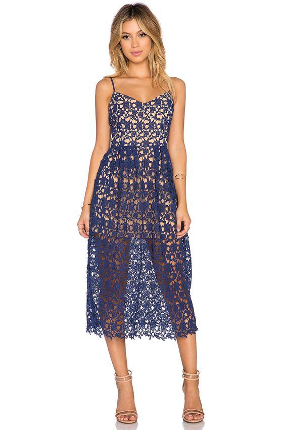 x Love Indie Bella Crochet Midi Dress - Sexy- Classy and The o&-39-jays