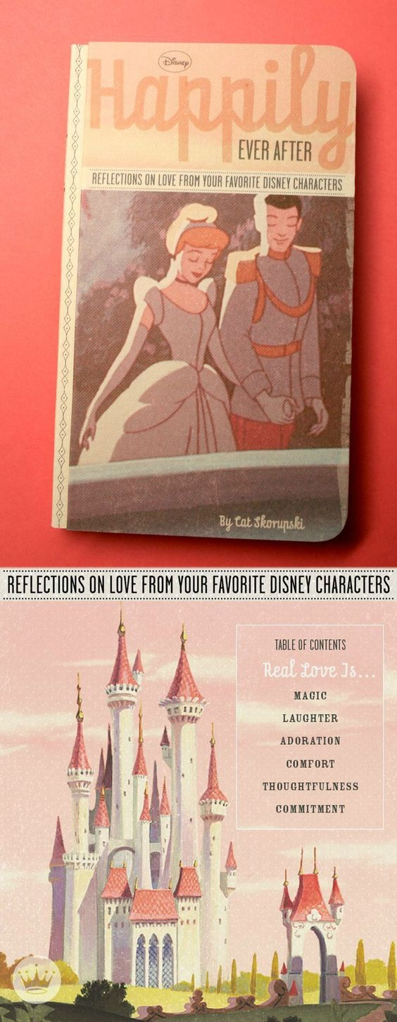 """Go ahead and fall head over heels in love with Hallmark writer Cat Skorupski's book, """"Happily Ever After: Reflections on Love From Your Favorite Disney Characters."""" This is the perfect Valentine's Day gift idea for your Princess or Prince Charming."""
